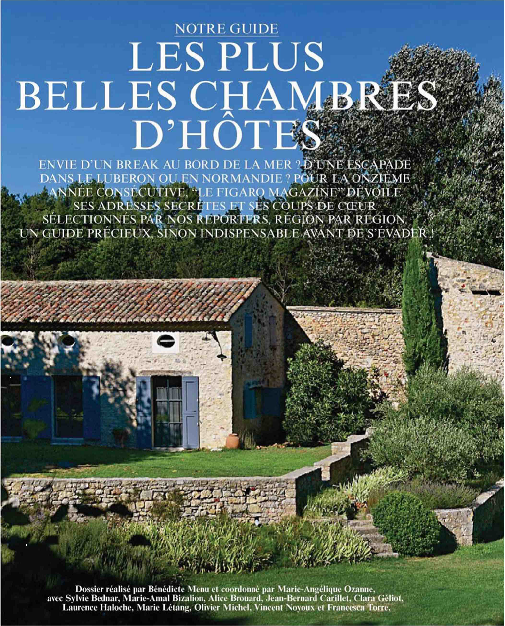 THE SPIRIT OF the 8 - Bed and Breakfast in Rochefort sur Mer in Charente Maritime Guide 2019 the most beautiful bed and breakfast - Le Figaro Magazine newspaper