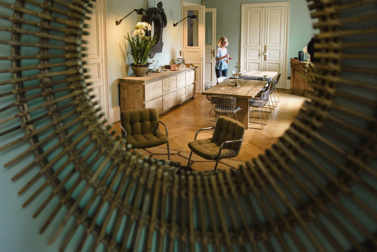décoration chambre d'hôtes vintage charente maritime