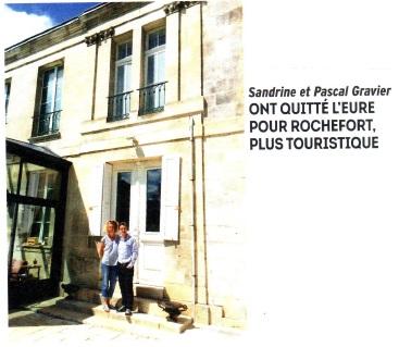 Article de L'express concernant l'Esprit du 8 à Rochefort-sur-Mer