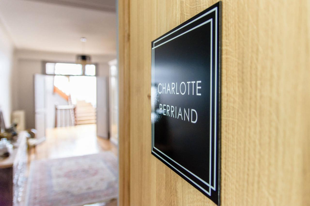 Charlotte Perriand chambre d'hôtes de charme jardin Rochefort sur mer charente maritime